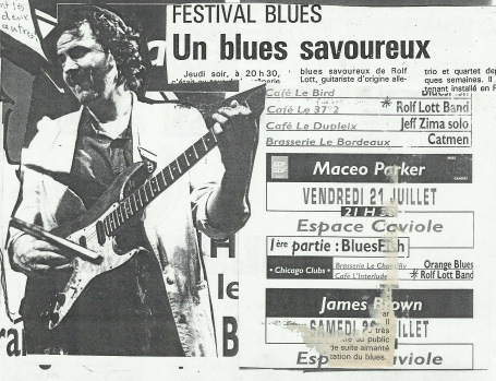 Article presse un blues savoureux